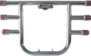 3 Pipe Steel Made Crash Guard For Enfield