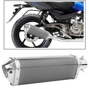 Triangle Carbon Fiber Finish Imported Exhaust Silencer