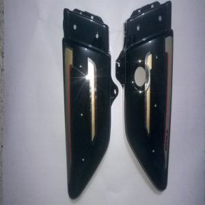 Genuine Side Panels for RX135 4 Speed Black Bike