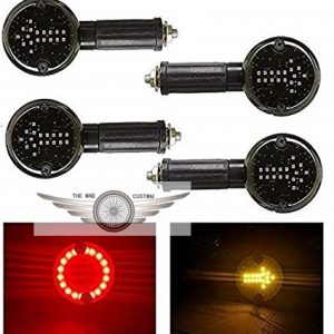 Arrow LED Side Indicator Red and Orange (Set of 4) for Enfield Classic 350